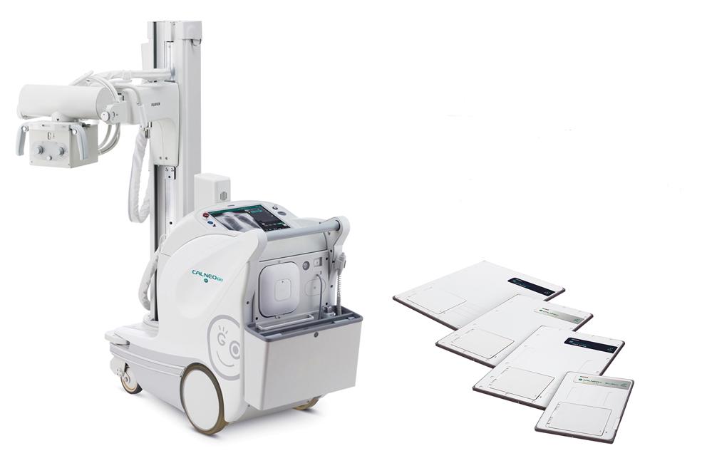 富士フイルムメディカル/移動型デジタルX線撮影装置に画像処理ソフトウェアを搭載
