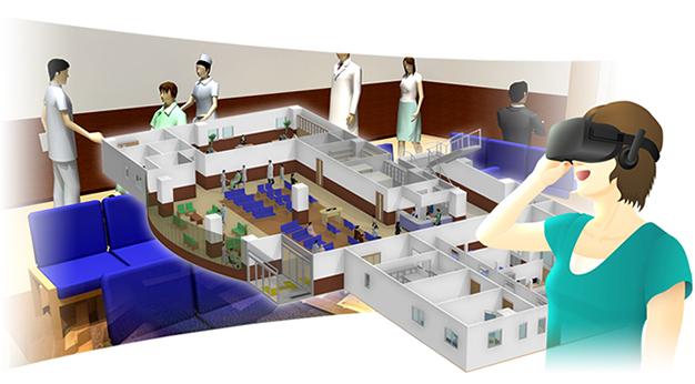 メガソフト/仮想医療施設を手軽に自作できるVR体感システムを発売
