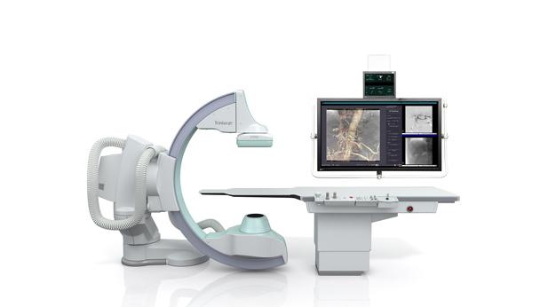 島津製作所/血管撮影装置向け画像処理技術