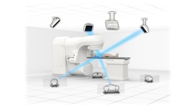 島津製作所/放射線治療装置用動体追跡システム