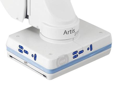 シーメンスヘルスケア/HDRフラットディテクタ搭載血管撮影装置