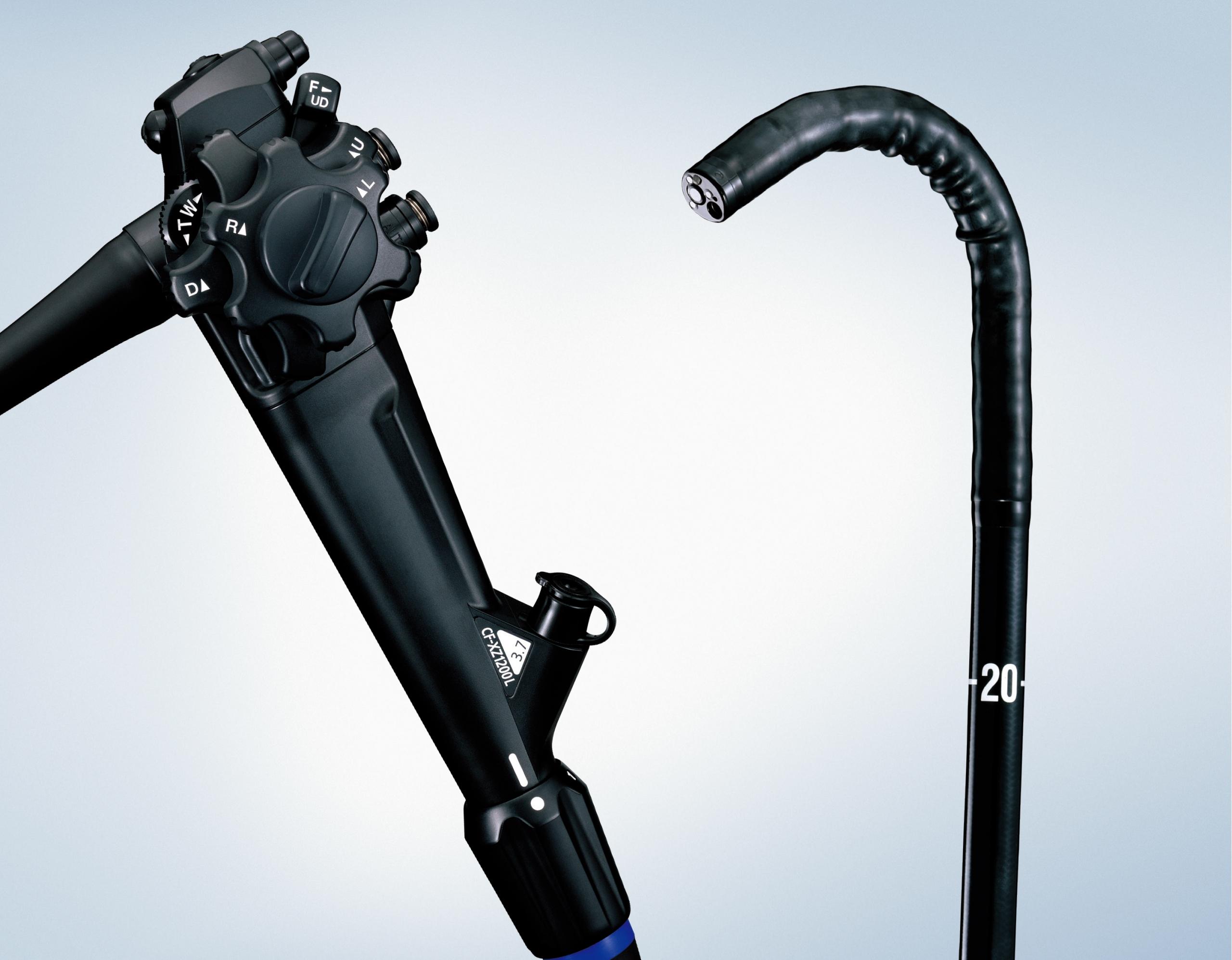 オリンパス/光学拡大機能付き大腸ビデオスコープ「CF-XZ1200 L/I」を発売
