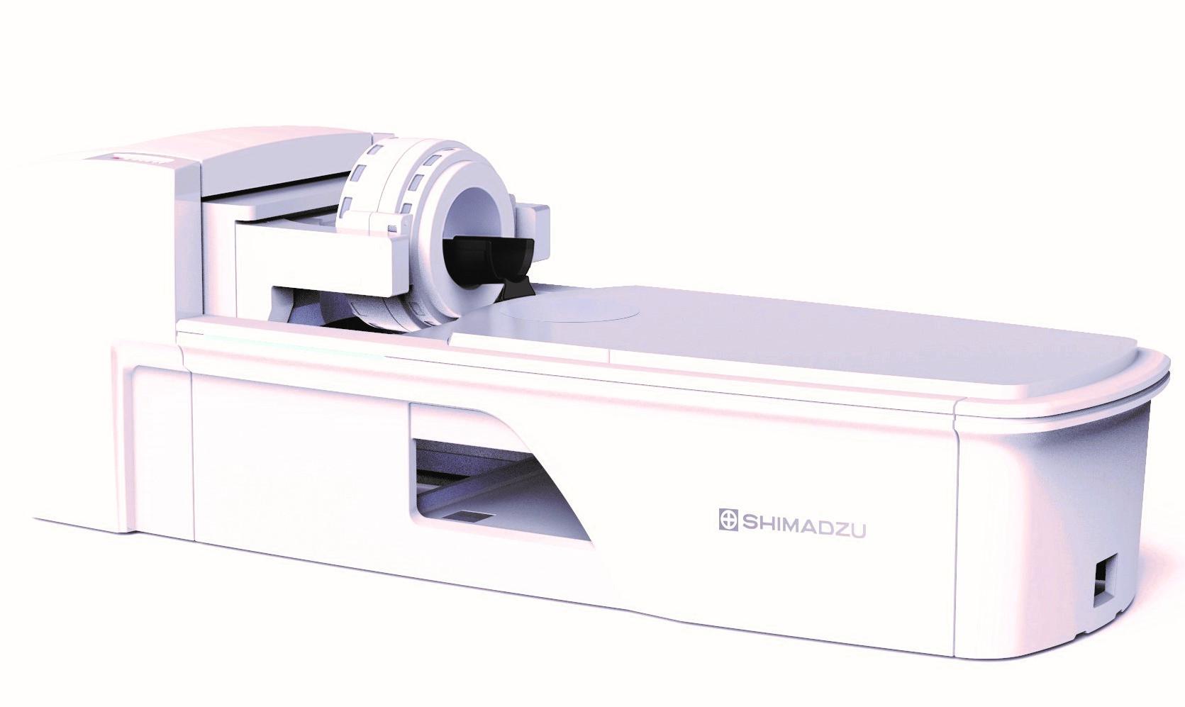 島津製作所/頭部と乳房の検査に特化した、世界初の TOF-PET 装置を発売